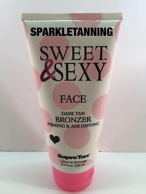 Supre Tan SWEET & SEXY Face Dark Tan Bronzer Indoor Tan Tanning Bed Lotion
