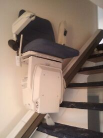 Stannah 420 stairlift with wider seat