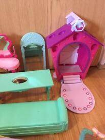 Princess furniture for dolls house
