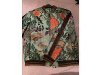 Men's floral detail jacket