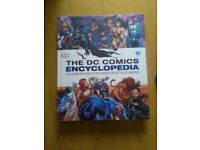 The DC comics ENCYCLOPEDIA.. all DC characters ..new £30 will take £10
