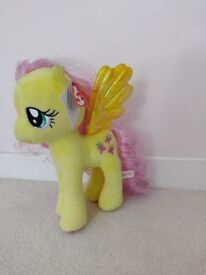 My little pony ty Fluttershy soft toy brand new with tags