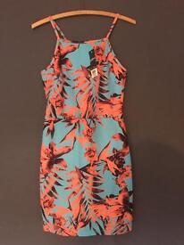 New -Miss Selfridge summer dress petite size 12