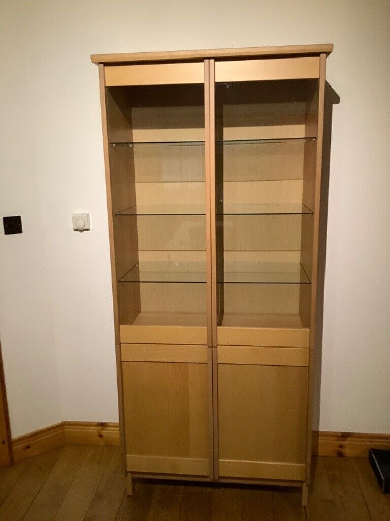 Glass door cabinet   in Limavady, County Londonderry   Gumtree