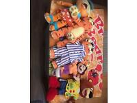 Haven character Teddies and beach towel