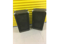 Pair Passive Bass Speakers. PA Speakers,