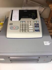 Fully working cash resister with till rolls
