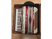 Italian Piano accordion 120 bass compact
