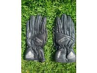 AKITO HI-SPEED PLUS CLASSIC VINTAGE LEATHER MOTORCYCLE GLOVES SIZE SMALL