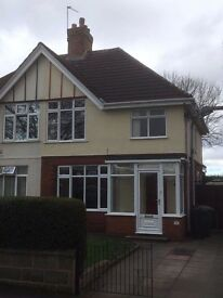 Three bedroom semi detached house for rent.