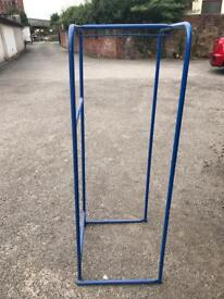 Clothes rail for storage or moving