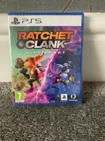 Brand new sealed Ratchet and clank PS5 version