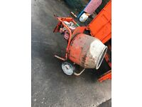 Belle petrol cement mixer £150ono with stand
