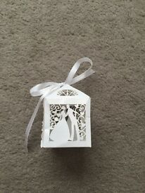 BRAND NEW wedding favour boxes 120