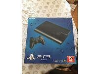 PS3 12gb with games
