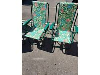 Camping/ garden table chairs