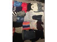 Large bundle of size 10 summer clothes