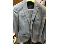 Men's remus uomo 38 short check suit