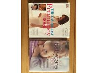 The Day By Day Pregnancy Book, and Your Baby Care Bible