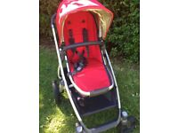 Uppababy Vista 2015 Pram and Pushchair with Extras