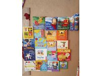 Selection of hard back baby and toddler books