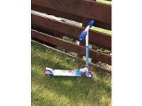 Frozen scooter