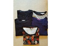 5 high quality tops size 18 and 20