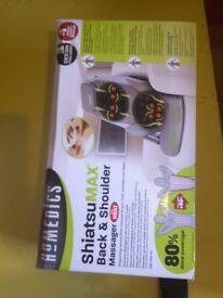 Homedics ShiatsuMAX Back&Shoulder massager chair with heat.