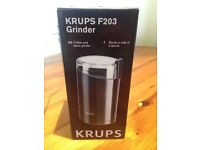 Coffee and spice grinder (never used)
