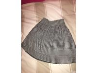AX Paris skirt black and white