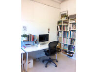 Desk space in creative HAGGERSTON studio ** £180 pcm inc bills