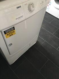 Bosch washing machine and Zanussi Condenser Dryer