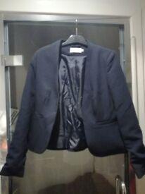 Formal navy jacket - size 10