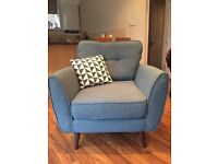 Armchair by French Connection, DFS - A+ Condition