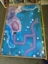 Universe of imagination train table