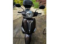 Yamaha delight 115cc 2014 only 4.000 miles drive like new