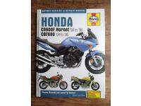 Honda CB600F Hornet (98-06) & CBF600 (04-06) - Haynes Service & Repairs Manual
