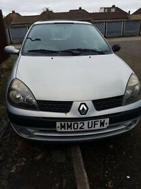 RENAULT CLIO FOR SALE ONLY £400