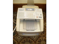 Brother Fax-8360P Mono laser fax in good working condition, new sealed original Brother Dr-6000 drum
