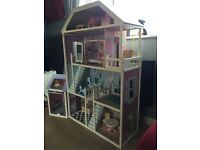 Full size Sindy dolls house and furniture