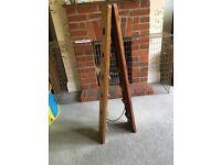 Reclaimed Wood - wine rack