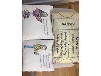 Roald Dahl cushions