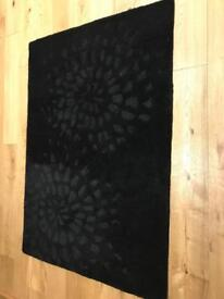 Black John Rocha rug