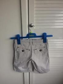 Boys Burberry shorts 4yr