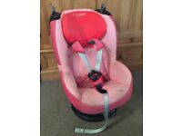 Maxi Cosi Tobi Car Seat in Pink/Red