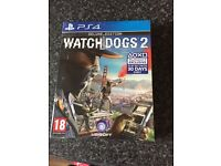 Watchdogs 2 PS4 deluxe edition