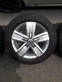"Vw transporter t6 Devonport 17"" alloys"
