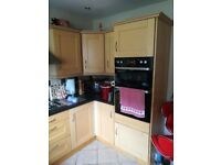 Solid Wood Shaker Style Kitchen and appliances