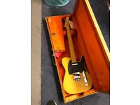 Great condition Fender American Vintage 52 telecaster Reissue