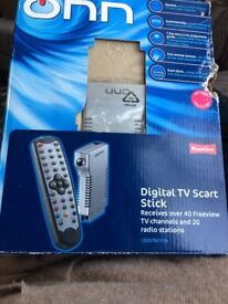 Tv scart stick
